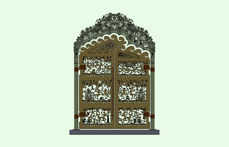 saloon-gates-vines