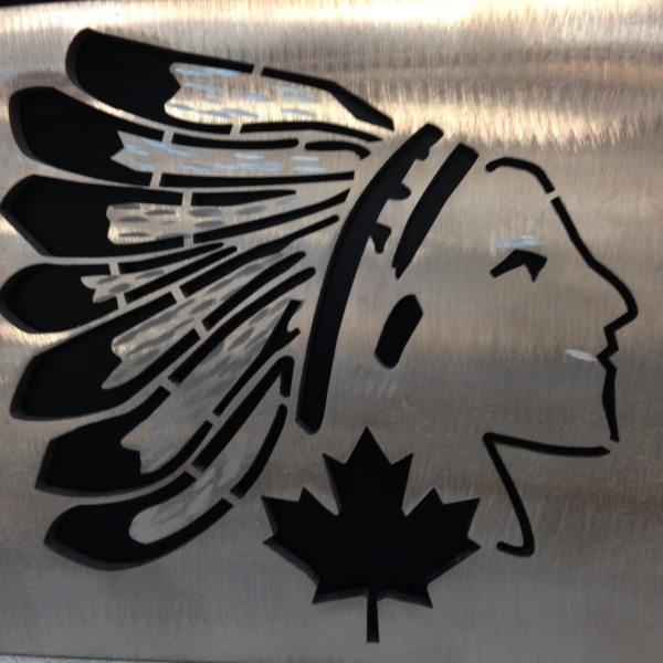 Stainless Steel Canadian Art