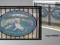 Gate Wildlife Artwork